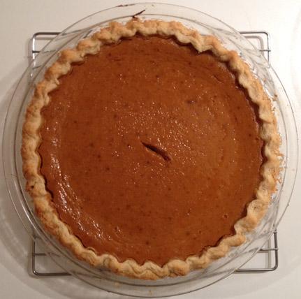 Pumpkin Pie-Margaret Furlong